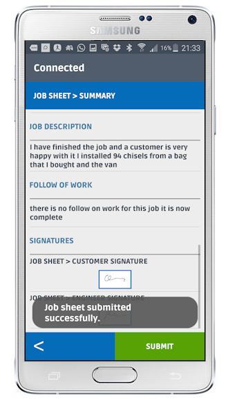 Electronic jobsheet software | e-jobsheet | Flobot