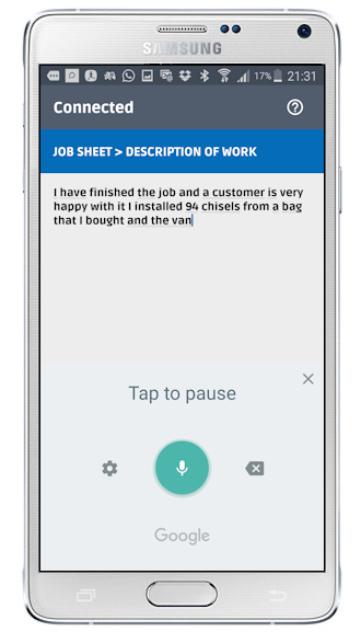 Contractor estimate & quote app on mobile phone | Flobot Field